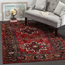 Traditional Oriental Tribal Medallion Red Area Rug **FREE SHIPPING**
