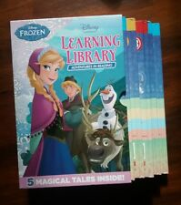Disney Frozen Learning Library x 5 set Scholastic Adventures in Reading plus xtr