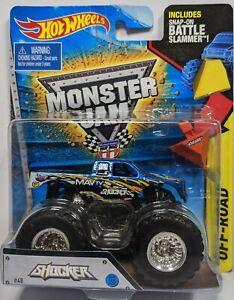Hot Wheels MONSTER JAM Shocker battle slammer #429c