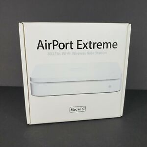 Vintage Apple A1143 AirPort Express Wi-Fi Router Base Station w/ Adapter