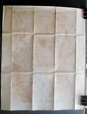 ANTIQUE  LOT OF 13 NEW HAMPSHIRE TOPOGRAPHICAL MAPS EARLY 20TH CENTURY