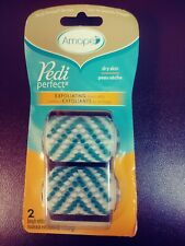 Amope Pedi Perfect Dry skin Exfoliating Brush Refills  2 in a pkg.