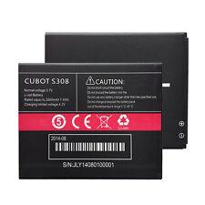 Original Cubot S308 Battery 2000mAh 3.7V Li-ion Bateria Batterie Replacement