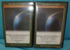 Great Courses Biology & Human Behavior 2nd Edition Part 1 & 2 12 CD & Book Set