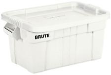 14 Gallon Brute Storage Container Bin Tote Heavy Duty Commercial Organizer Lid