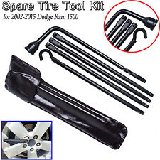 Replacement for Jack for 2002-15 Dodge Ram Spare Lug Wrench Tire Ext Tools Set