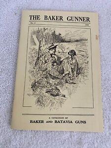 THE BAKER & BATAVIA  GUNNER no.4 1909 Reprinted 1981 Burt's Printing Dalton N.Y.