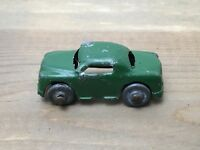 """Vintage Barclay Die Cast Toy Car Green Coupe Sedan For Hauler 1.5"""""""
