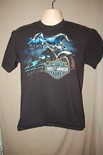 Harley-Davidson New River Gorge HD Shop Hico, WV T-Shirt ~ Black ~ Size M