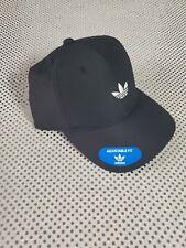 NEW! Adidas Mens Originals Relaxed Fit Modern Cap-Black