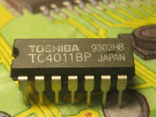 TC4011 CMOS QUAD  2 INPUT NAND GATE  TOSHIBA 1pcs