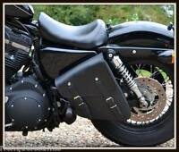 sacoche latérale en Cuir - Harley Sportster Iron Forty Eight nightster 883 1200