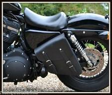 Grosse Sacoche latérale en Cuir pour Harley Sportster Iron Forty Eight nightster