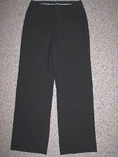 BANANA REPUBLIC CONTOURED FIT STRETCH BLACK FULLY LINED WOOL PANTS 6 INSEAM 32