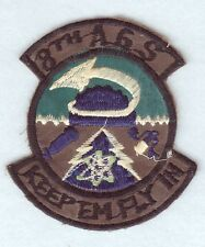 """USAF Air Force Patch:  8th Aircraft Generation Squadron - 3"""" subdued Korean made"""