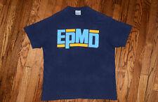1989 EPMD Unfinished Business T-shirt vintage 80s rap hip hop Def Jam rush L/XL