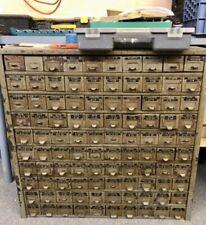 Vintage 100 Drawer Industrial Metal Cabinet  Parts Artwork Tools Crafts