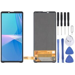 For Sony Xperia 10 III OEM LCD Screen Touch Digitizer Glass Part BLACK