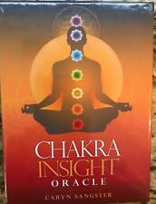 Chakra Insight Oracle Deck by Caryn Sangster NEW Sealed