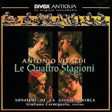 Giuliano Carmignola, A. Vivaldi - Four Seasons [New CD]