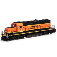Athearrn ATH71543 SD39-2 BNSF/Wedge #1883 RTR Train HO Scale