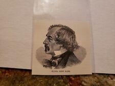 Elisha Kent Kane Navy Officer 1893 Harper's Weekly Woodcut RARE!