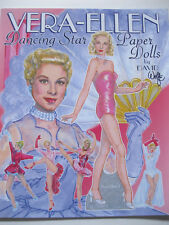 VERA-ELLEN Hollywood Dancing Star Paper Doll Book--3 Dolls w/ 25 Movie Costumes