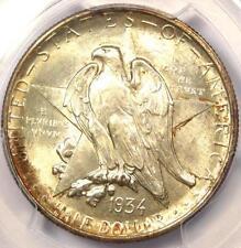 1934 Texas Half Dollar 50C - Certified PCGS MS67 - Rare in MS67 - $650 Value