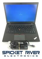 "READ - Lenovo ThinkPad T450S 14"" i5-5300U 2.30GHz 500GB HDD 8GB RAM #51431"