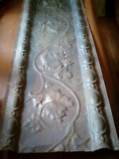 Antique Architectural Salvaged Ceiling Tins /Earley 1900'S/42 x 16 Inches/Gc.