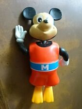 WIND UP SWIMMING MICKEY MOUSE - WALT DISNEY / TOMY - GREAT WORKING ORDER