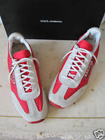 Rare! Vtg 70s KICKERS Suede Grey Red White Cream Black Trainers Sneakers 39 6