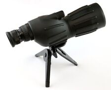 15X-40X50 Grooved Spotting Scope with Mini Tripod-Clam Package