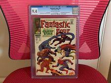 Fantastic Four #73 CGC 9.4 Daredevil Spider-Man Thor