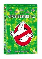 GHOSTBUSTERS 1 AND 2 DVD       BRAND NEW SEALED GENUINE UK STOCK