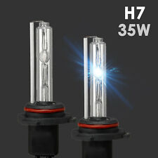 2x XENON H7 HID Bulbs AC 35W Headlight Replacement w/ Wire adapter All Color