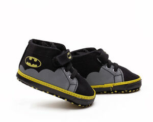 Soft Sole Baby Boy Crib Shoes Infant Toddler First Shoes Batman Trainers 0-18 M