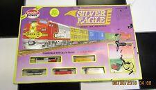 Vintage N Scale Model Power Silver Eagle Electric Train Set No. 1150