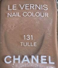 chanel nail polish 131 Tulle rare limited edition