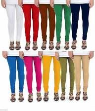 Women Churidaar Legging Indian Cotton Stretch Lycra Yoga Pants WholeSale Lot 10