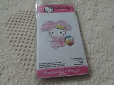 Sizzix Hello Kitty Med Die Retired KITTY With BUNNY COSTUME EASTER by Sanrio NIP