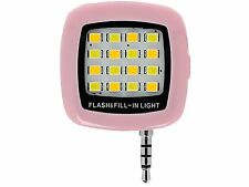 Pink Mini Spotlight Smartphone LED Flash and Fill-Light For Apple iPhone 6 5 4 a