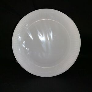 """100 pack White Disposable Paper Plates 9"""" - for parties, birthdays and events !!"""
