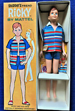 Vintage Barbie 1965 Ricky   W/Blush!!  NRFB  MIB  NICE!!