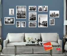 13 PCS Photo Frames wall art collection picture picture decor frame Gift white