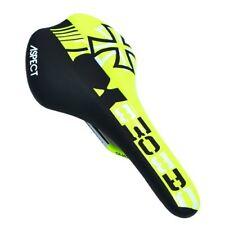 DA BOMB ASPECT XC MTB BMX Dirt Jumper Saddle - Black X Yellow