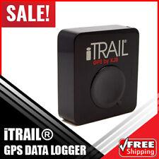 iTrail GPS Data Logger Multi-Purpose GPS Tracking Car Google Earth Compatible