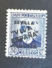 ESPAÑA SPAIN PATRIOTICO SEVILLA 1936 EDIFIL n.11 MNH sello suelto.