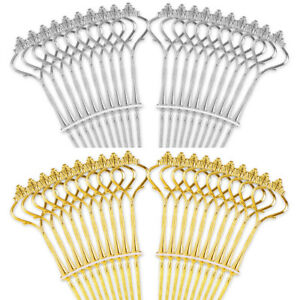 20 Sets 3 Tier Cake Plate Stand Handle Fittings Royal Crown Rod Afternoon Tea