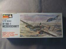 Monogram #162 Bf 110E-1 Messerschmitt kit.  1/72 scale.